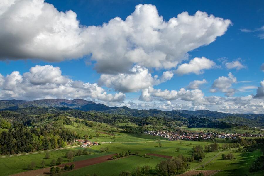 gesunder Urlaub im Schwarzwald-Panorama