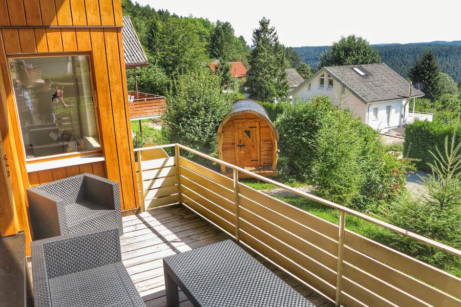 Ferienwohnung Im Schwarzwald Balkon