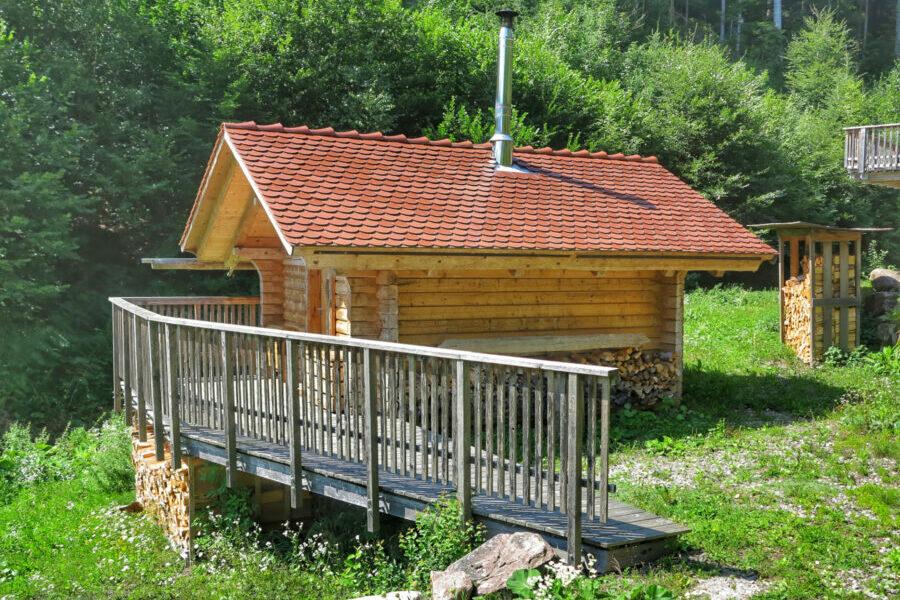 Blockhaus Hütte Für Zwei